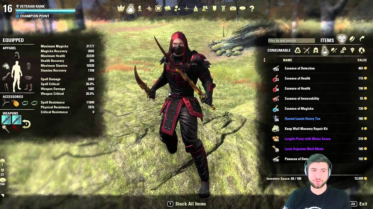 Build Pvp Teso