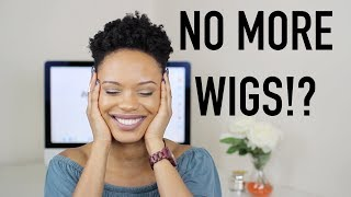 Why I Stopped Wearing Wigs