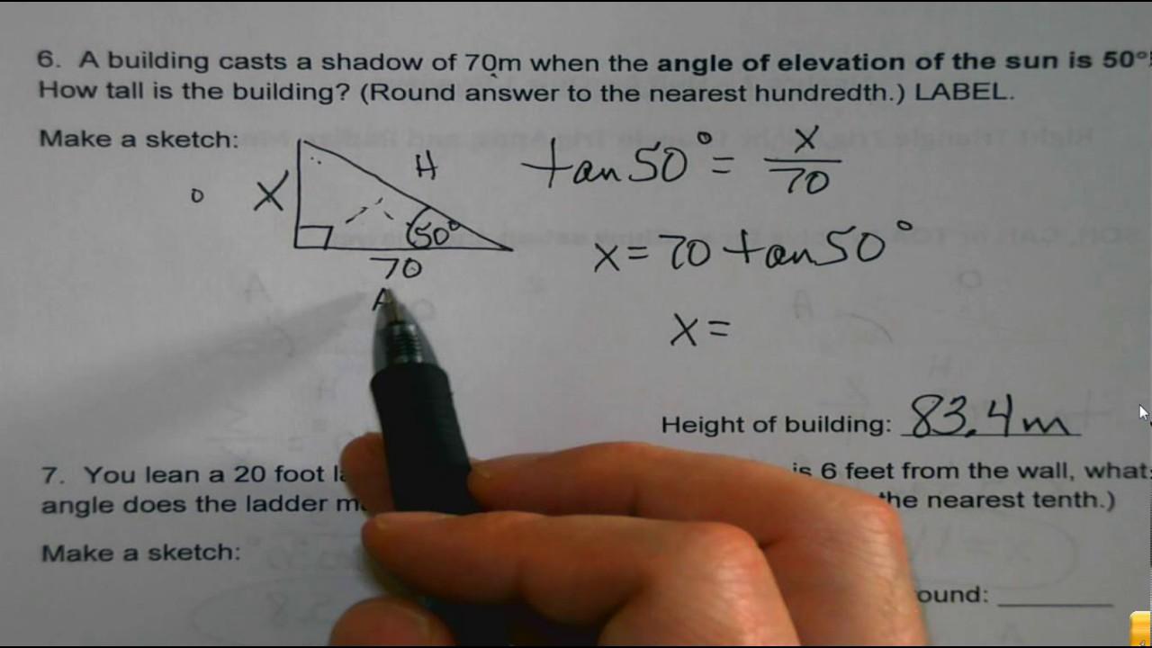 Algebra 2 Trig Unit Quiz 1 Preview17