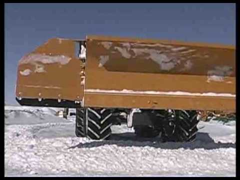 Horst SnowWing Incredible snow plow.