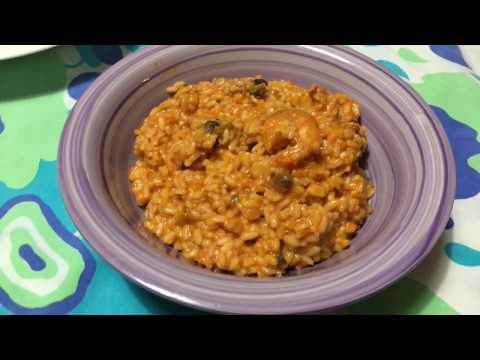 Monsieur-Cuisine plus#2: risotto alla pescatora
