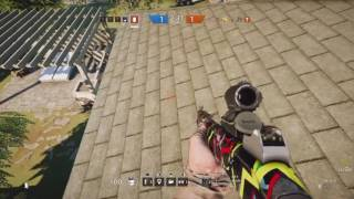 Clutch Plays (eh) (Rainbow Six Siege Gameplay)