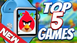 Top 5 Paid Apple Watch Games - New 2015 iWatch Gaming