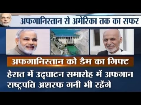 PM Modi Kicks Start His Visit to Afghanistan, US, Mexico, Switzerland and Qatar
