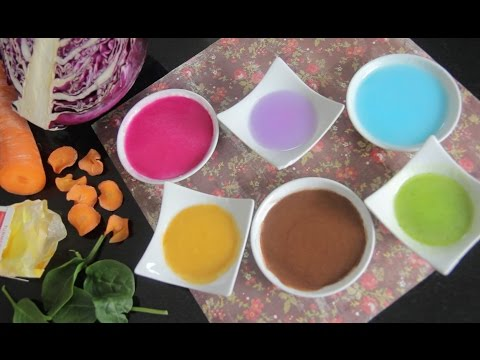Natural Food Colourings!