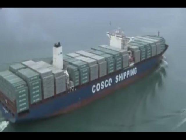 Inauguran el nuevo Canal de Panamá
