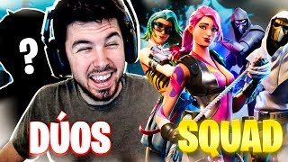 DUOS VS SQUAD | SIN CURACIONES!! FORTNITE