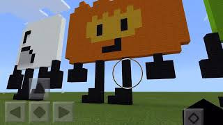 My BFDI Minecraft characters