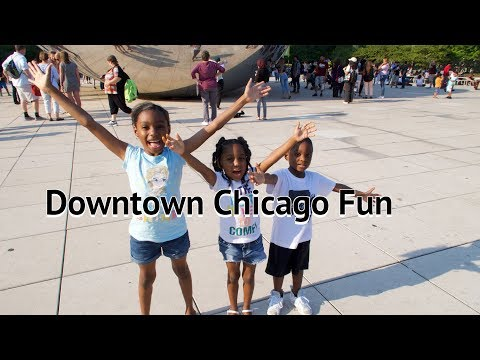 Downtown Chicago Fun | Black Family Vlogs