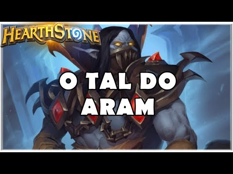 HEARTHSTONE - O TAL DO ARAM! (STANDARD CUBE WARLOCK)