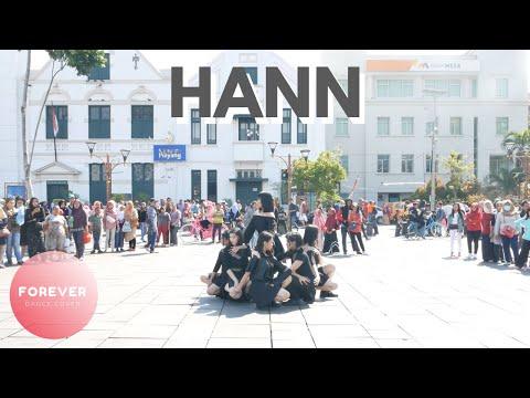 KPOP IN PUBLIC CHALLENGE (G)I-DLE HANN DANCE In PUBLIC INDONESIA