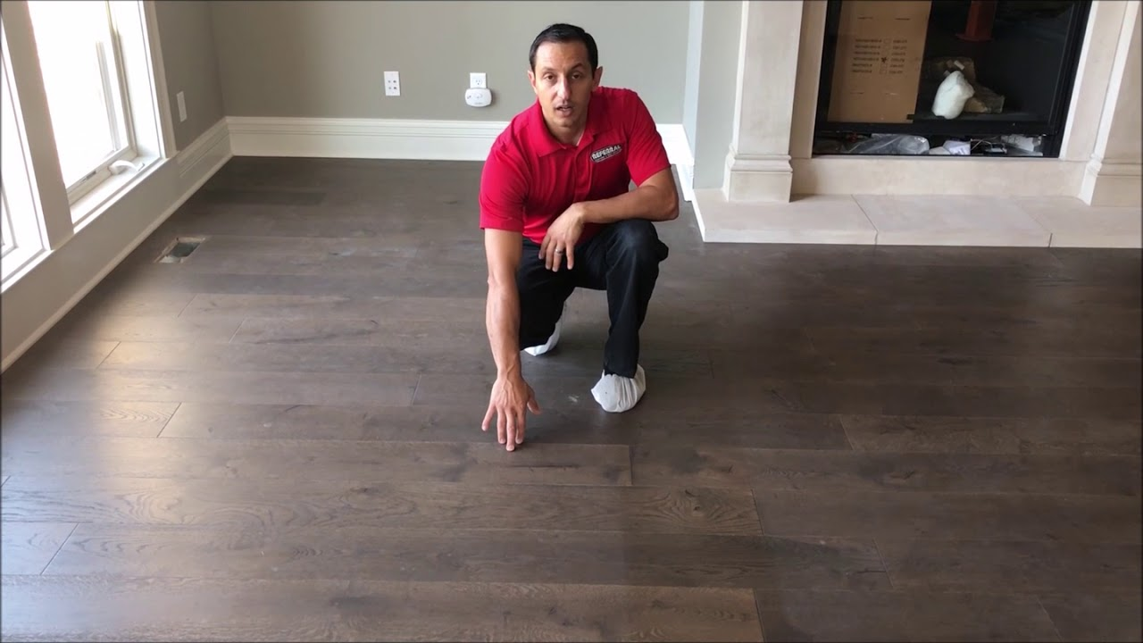 Referral Cleans Out Drywall Dust Trapped In Wood Floor Grain Youtube