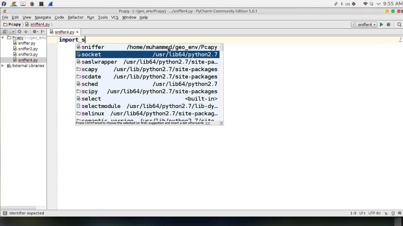 100 Python network programming multiCasting