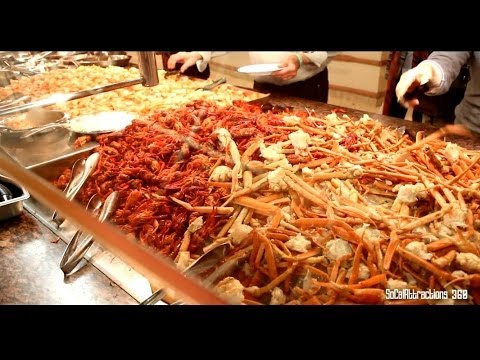 Hd Tour Of Paradise Garden Buffet At Flamingo Hotel And Casino