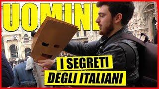 Gli Italiani Confessano i Loro Segreti - [IL SACCHETTO DEI SEGRETI] -[Esperimento Sociale] - theShow