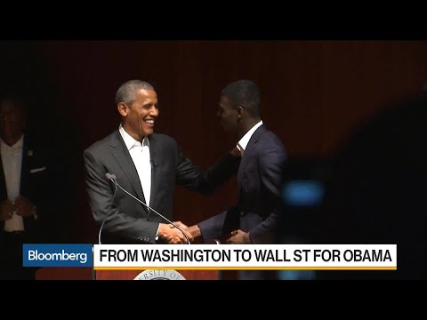 Obama's Fast Journey From Washington to Wall Street