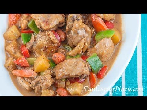 Pininyahang Manok sa Gata (Pineapple Chicken in Coconut Milk)