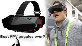 Orqa FPV ONE. Best FPV Goggles in the world for drone pilots? 🤔