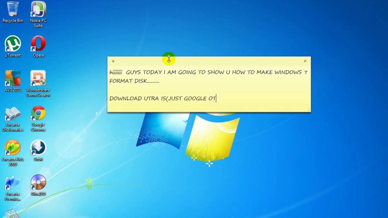 How to burn a bootable Windows 7 disk from scratch