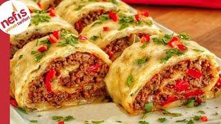 Öyle bir yemek ki sofraya geldiği gibi biteceği garanti 😋💯 Kıymalı Rulo Patates ✅