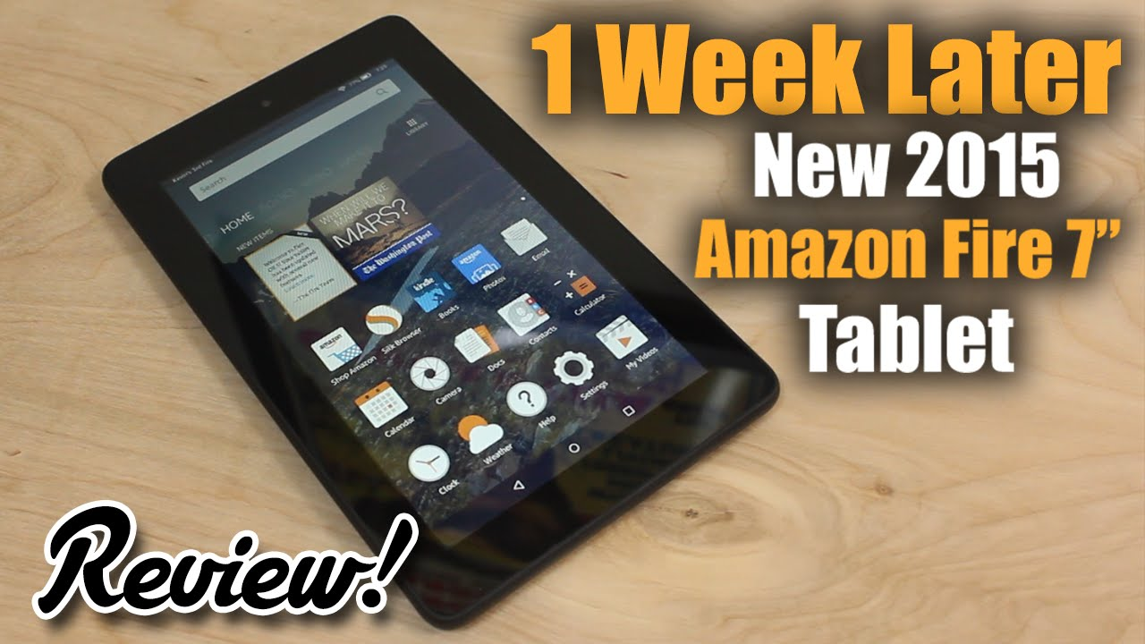 Review: New Amazon Fire 7