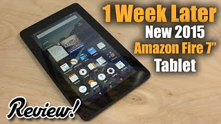 "Review:  New Amazon Fire 7"" Tablet (Fall 2015)"