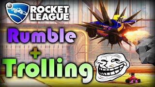 Rocket League | Rumble Session & Trolling
