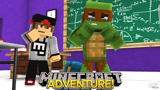 Minecraft Adventure - TINY TURTLE GETS BULLIED BY BIG BAD BARRY!