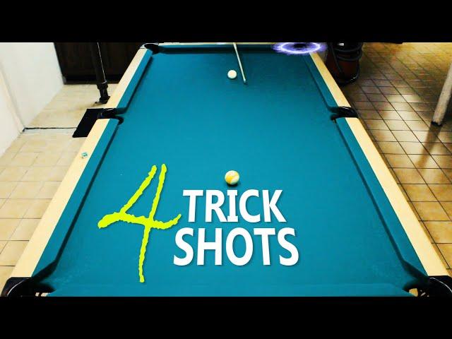 4 Pool Trick Shots: Volume 15