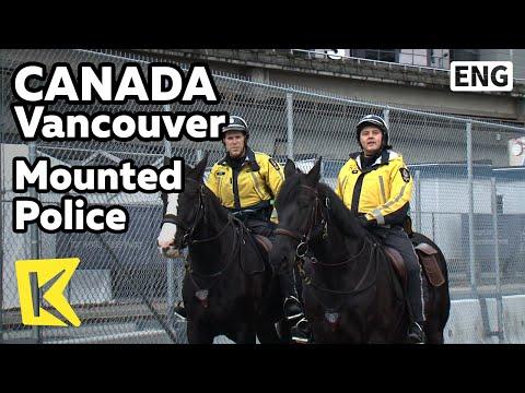 【K】Canada Travel-Vancouver[캐나다 여행-밴쿠버] 자동차 대신 말 탄 경찰/Mounted Police