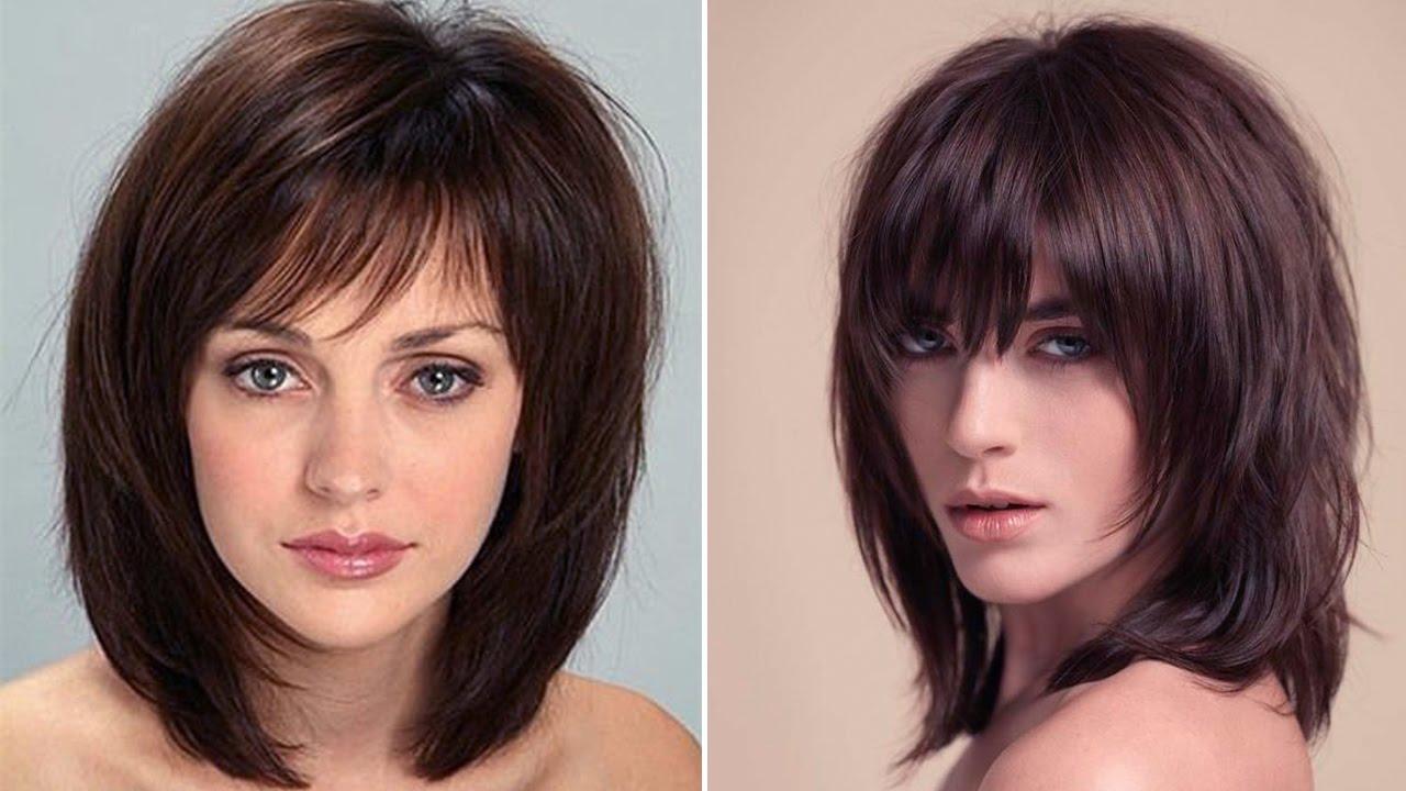 Cortes de cabello para mujeres de cara redonda y cuello corto
