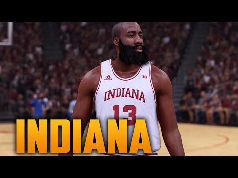7520f3a652f0 NBA 2K18 NCAA Crossover  Indiana Hoosiers vs Louisville Cardinals ...
