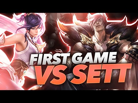 Rank #1 Fiora NA's First Game vs The New Champ Sett!