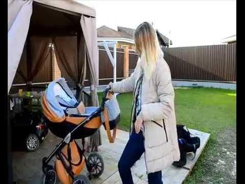 Видеообзор коляски Anex Sport 3 в 1 с участием настоящих детей.