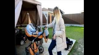 Видеообзор коляски Anex Sport 3 в 1 с участием настоящих детей.(В этом обзоре вы увидите как в коляске выглядит настоящий малыш 6 месяцев и девочка 3 лет - как они в нее помещ..., 2016-10-16T17:31:32.000Z)