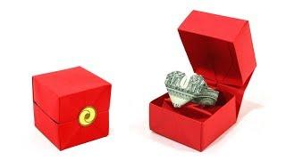 ORIGAMI RING BOX TUTORIAL (Jodi Fukumoto) 折り紙 リングボックス  VALENTINE'S DAY GIFT ❤️ SAN VALENTÍN