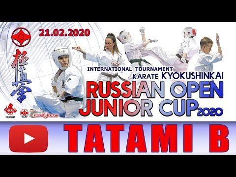 «Russian Open Junior Cup - 2020». ТАТАМИ B (1 день)