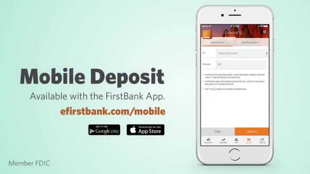 Mobile Banking – Mobile App | FirstBank