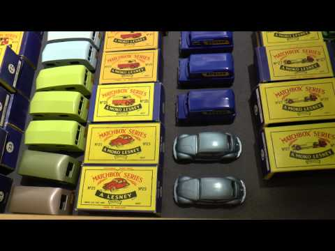 the ultimate Matchbox Grizzly collection Pt.1
