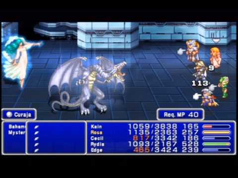 Final Fantasy IV - The After Years (PSP): Mysterious Girl & Bahamut
