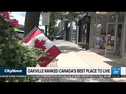 Oakville named Canada's best place to live