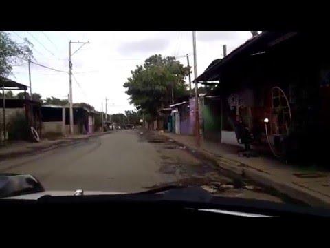 Managua Nicaragua Driving around