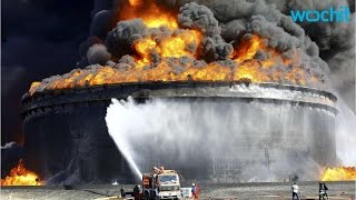 Libya Sees More Progress in Extinguishing Fire at Eastern Oil Terminal