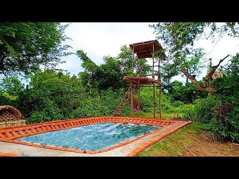 Build Swimming Pool Underground( full)