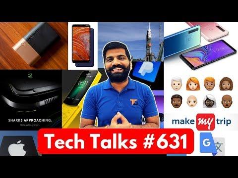 Tech Talks #631 - Galaxy A9 4 Cameras, Nokia 3.1 Plus, Razer Phone 2, Duracell Powerbank, Nokia 8110