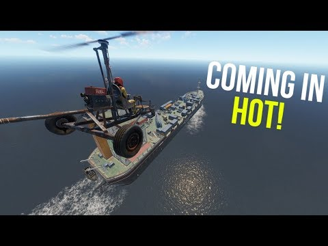 TAKING EVERY CARGO WITH THE MINICOPTER! | Rust thumbnail