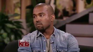 Kanye West smiles and gets mad (Interview on Kris) Mp3