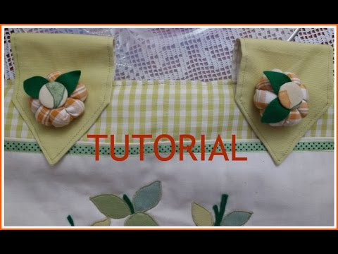 Tovaglietta copriforno tutorial doovi for Tutorial coprifornelli