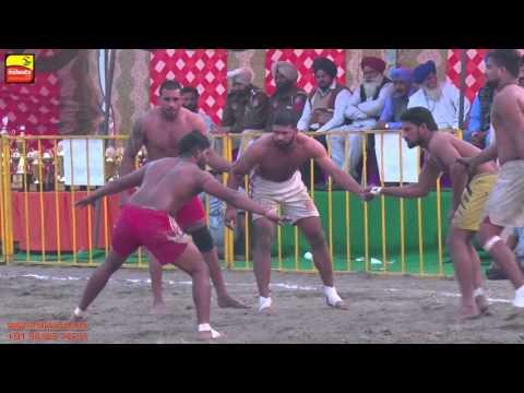 MADHO JHANDA (Kapurthala)    KABADDI CUP - 2015    1st. SEMI FINAL    Full HD   