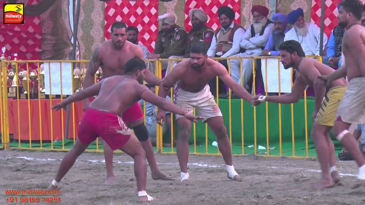 MADHO JHANDA (Kapurthala) || KABADDI CUP - 2015 || 1st. SEMI FINAL || Full HD ||